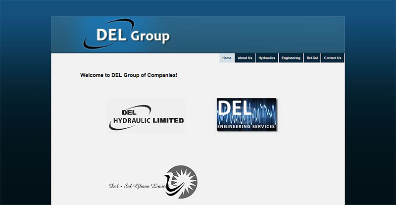DEL Group of Companies Homepage