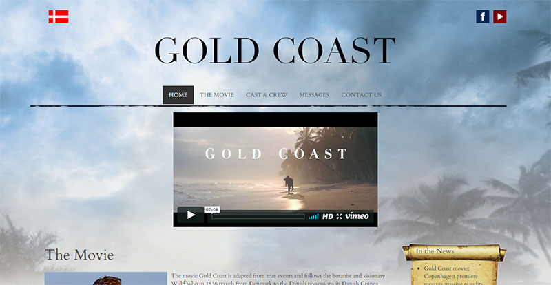 Gold Coast - The Movie - Homepage