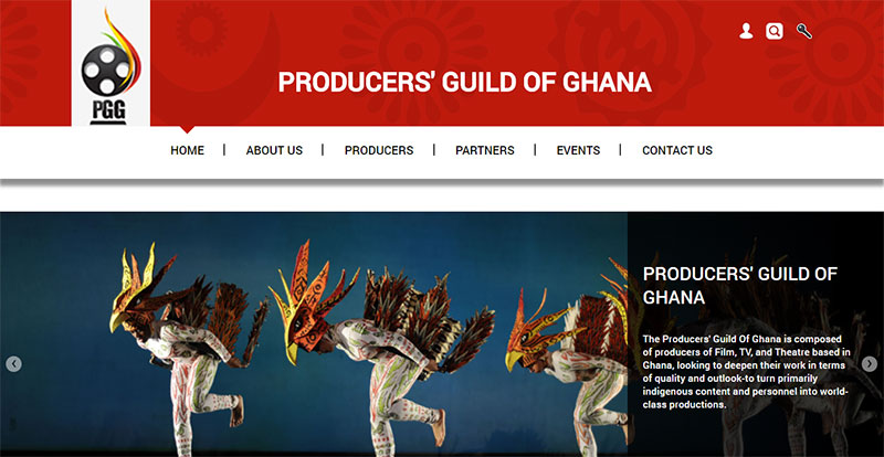 Producers' Guild of Ghana Homepage