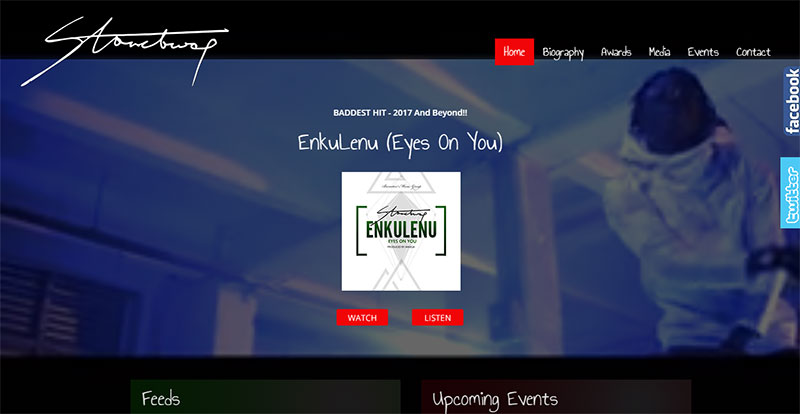 Stonebwoy - Official Homepage